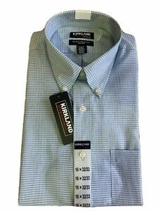 SALE! Kirkland Signature Traditional Fit Non-Iron Button Down Dress Shirt
