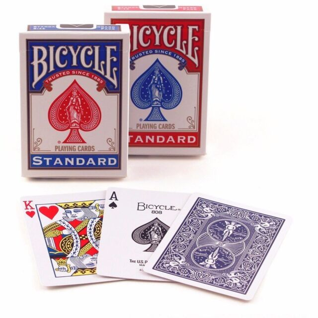 2 Decks Bicycle US Standard Playing Cards Poker Card Game Made in USA