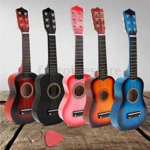 21/'/' Kinder Akustik Gitarre 6 Saiten Training Kindergitarre Spielzeug 5 Farben W