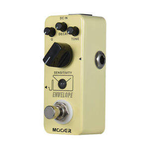 MOOER-ENVELOPE-Analog-Auto-Wah-Guitar-Effect-Pedal-True-Bypass-Full-Metal-O6B7