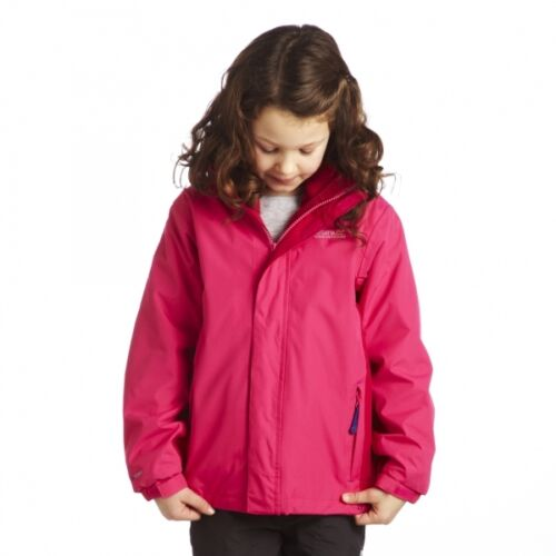 Regatta garçons//filles 3 En 1 Imperméables Veste//manteau avec intérieur polaire rlca