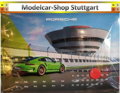 individuelle Kalendereinstellung Porsche 911 GT3 RS 3D ...