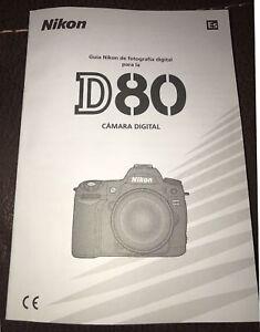 instruction manual nikon d80 free owners manual u2022 rh wordworksbysea com Nikon Flash Nikon D800 Photography