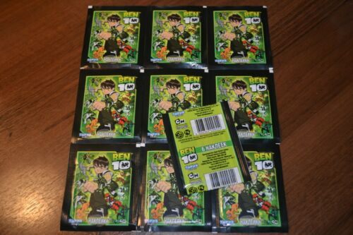 2011 TOPPS Merlin Ben 10 10 non ouvert paquets version russe.