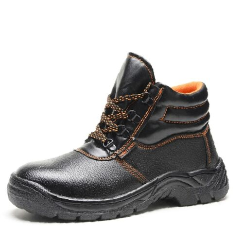 Lace Up Boots Men Low Top Sneakers Male Work Trainers Round Toe Safety Shoes Hot