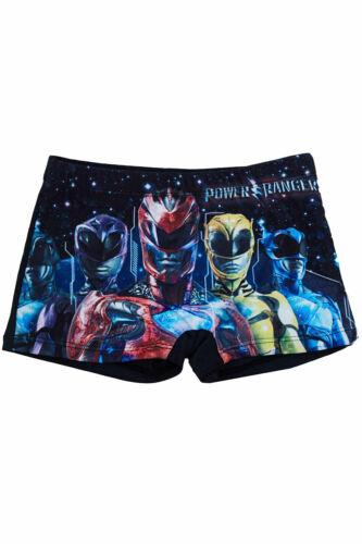 Power Rangers Badehosen Badeshorts 2er Set Blau und Schwarz für Jungen NEUWARE