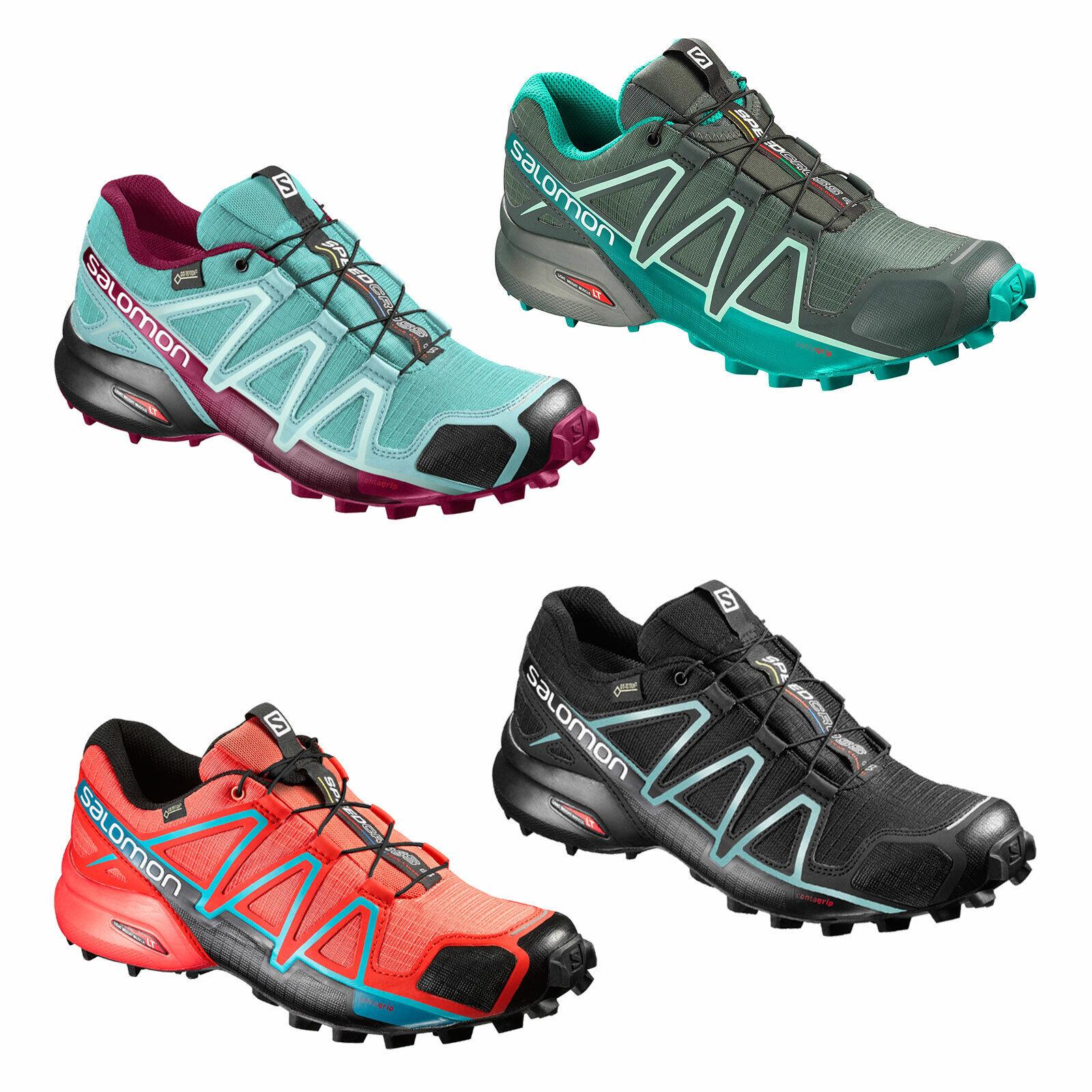 Kundschaft zuerst zum halben Preis Preis Salomon Speedcross 4 W GTX Goretex Women's Running Shoes Outdoor Waterproof