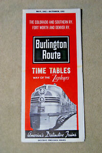 Burlington-Route-Condensed-Timetable-May-1961-to-Oct-1961