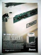 PUBLICITE-ADVERTISING :  Amplis IBANEZ Tube Screamer  02/2011