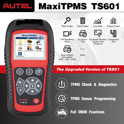 Check Tpms System >> Autel Ts601 Ts401 Obd2 Tpms Reset Oem Universal Tire Pressure Sensor Programmer Ebay