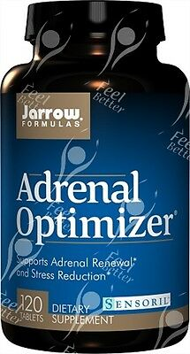 Adrenal Optimizer by Jarrow Formula, x120tabs;- For Adrenal Fatigue