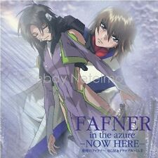 New 0456-7 FAFNER IN THE AZURE NOW HERE SOUNDTRACK CD Music Anime Game