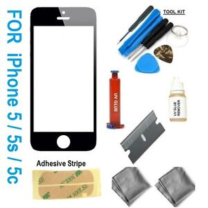 iphone 5s repair kit iphone 5s 5c 5 genuine front glass screen replacement 3100