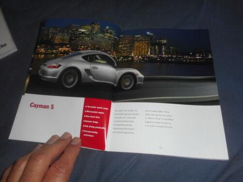 2007 Porsche Caymann and Caymann S Brochure Catalog Prospekt
