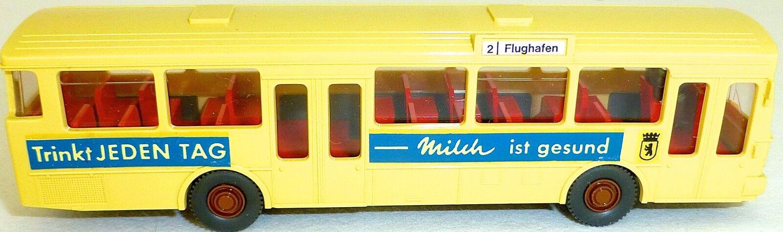 2 Aéroport Boit Lait Lait MB O305 Gesupert en Wiking Bus H0 1 87 Gd4 Å