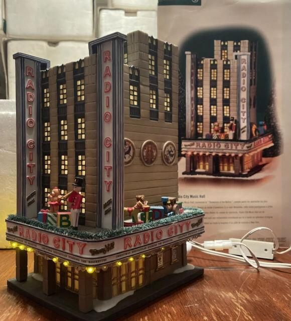 Dept. 56 Christmas In The City Radio City Music Hall  #56.58924