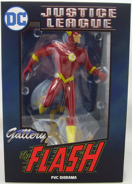 DC Gallery Justice League Animated Series Flash PVC Figure by by by Diamond 1b39f7