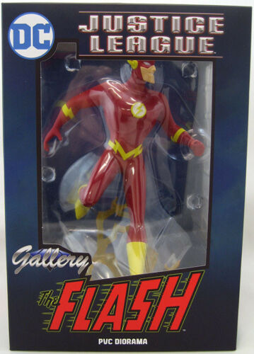 DC Gallery Justice League Animated Series Flash PVC Figure by Diamond