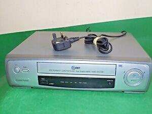 LG-LV200-Grabadora-De-Cassette-De-Video-Vhs-Vcr-inteligente-plateado-largo-juego-totalmente-probado