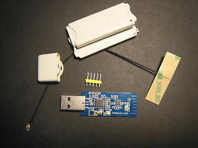 2.4GHz IEEE 802.15.4 // ZigBee USB dongle CC2531 RFX2401C PA//LNA RF Front End