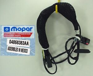 trailer towing package wiring harness mopar 04868383aa. Black Bedroom Furniture Sets. Home Design Ideas