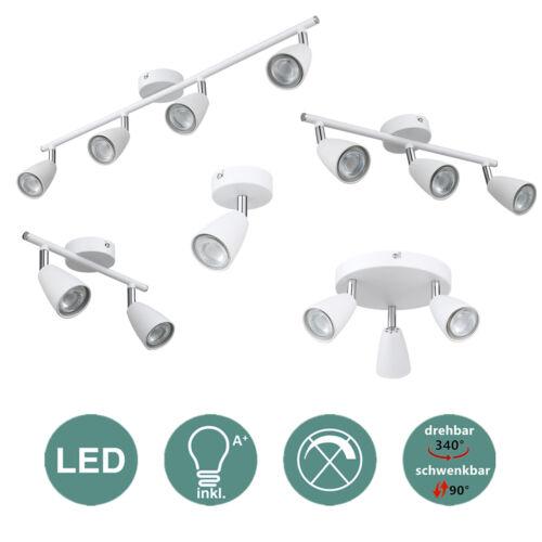 LED Deckenleuchte warmweiß Deckenlampe Spotleuchte Deckenstrahler 1-6 flammig