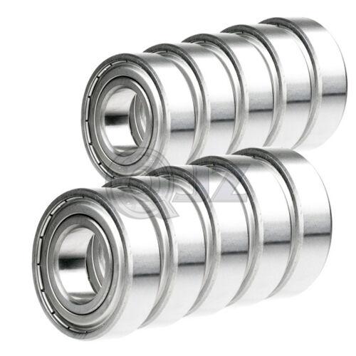 10x 698-ZZ Ball Bearing 8mm x 19mm x 6mm Double Shielded Metal Seal NEW 2Z QJZ