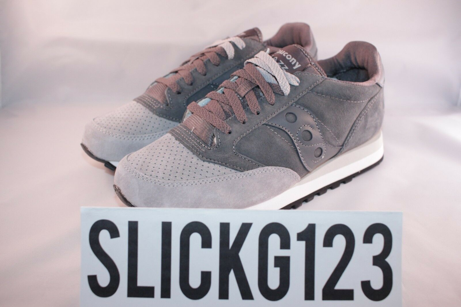Saucony Jazz Original Luxury Pack Premium Suede grau Größe 9 DS Brand New