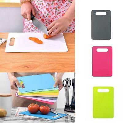 Kitchen Plastic Non Slip Chopping Block Mat Vegetable Cutting Meat Board I6K5