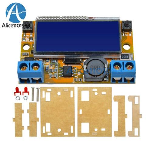 DC-DC Réglable Step-down Module d/'Alimentation Tension Courant Affichage LCD Shell