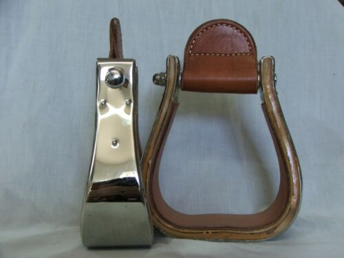 """Monel Stirrups 2 1//2/"""" Bell Stainless Steel"""