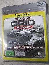Racedriver Grid Reloaded PS3