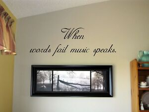 Words For The Wall Home Decor Entracing Wall Stickers Decor Art - Custom vinyl wall decals saying
