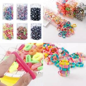 100PCS-Baby-Girl-Headbands-Elastic-Kids-Women-Hair-Bands-Ties-Rope-Hearwear-Gift