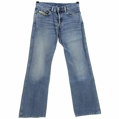 #4281 Diesel Jeans Uomo Pantaloni Ravix 773 Denim Blue Stone Blu 30/32-mostra Il Titolo Originale Prezzo Ragionevole