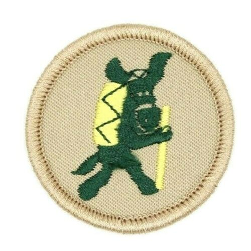 MINT Discontinued Pedro Patrol Hiking Donkey Patch Boy Scouts BSA