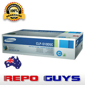 Samsung-CLP-510D5C-Cyan-Laser-Toner-Cartridge-CLP-510-511-515-Brand-New