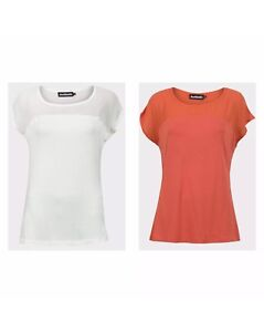 Ladies-chiffon-detail-summer-top-in-2-colours-cream-or-rust-size-6-8-12-14
