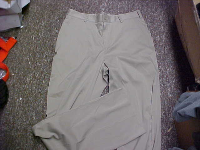 bd154ee0e4bd Nike Coaches Performance Chino Fit Dry Moisture Wicking Pants Golf Stone 50  for sale online