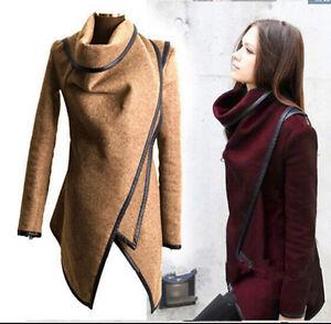 HOT NEW Women's fashion Warm Slim Long Coat Jacket Trench Windbreaker Outwear