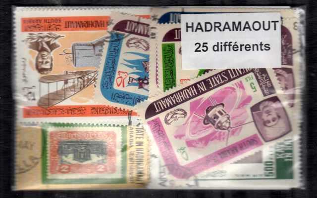 Hadramout 25 sellos diferentes