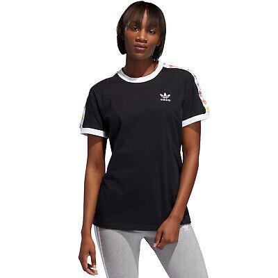 Adidas Originals Pride Trefoil Tape Tee Damenshirt Damen Shirt Oberteil T-shirt