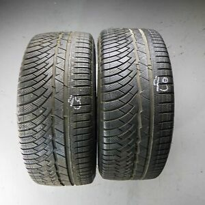 2x-Michelin-Pilot-Alpin-pa4-245-40-r19-98-V-Dot-3812-5-mm-Pneus-Hiver
