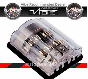 VIBE-FD4-4-CANALES-Agu-Fusible-Fusible-Bloque-Distribucion-Soporte