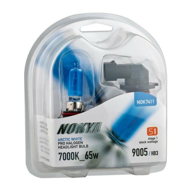 9005 Nokya Arctic White S1 65W Halogen Headlight Fog Light Bulb NOK7411 1 Pair