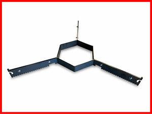 Abstandshalter Auflageleiste für 80cm o. 100cm Feuerplatte Grillplatte  #11
