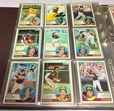 1983 Topps complete set in binder (792 cards) Gwynn, Boggs, Sandberg RCs NMMT++