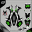 Grafiche-personalizzate-KAWASAKI-KX-100-CROSS-RiMotoShop-Ultra-grip miniatura 1