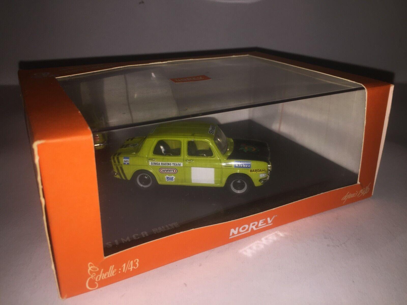 Miniature Simca Rallye Norev 1 43