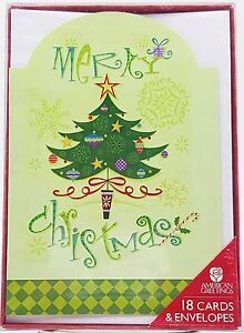 Merry-Christmas-Festive-Tree-Holiday-Cards-18-count-New